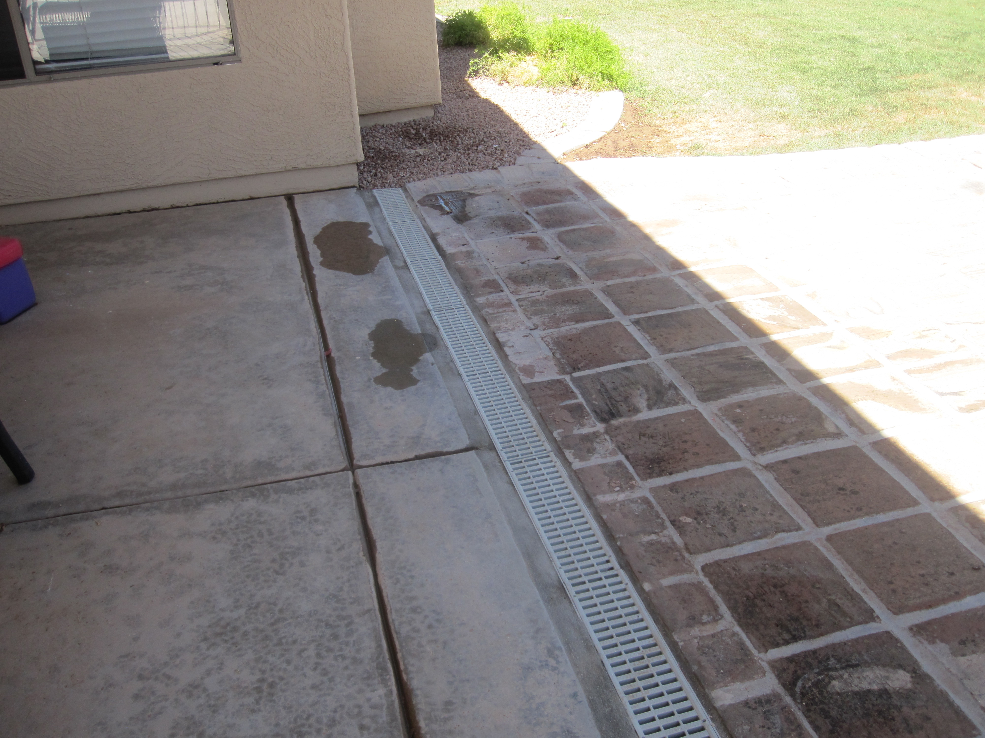 Channel drain for Outdoor ground drains